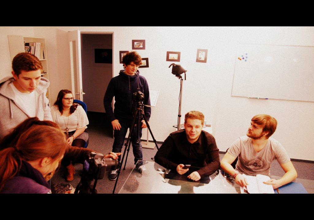 """Videoproduktion mit Semigruppe """"Tatort/Polizeiruf"""""""