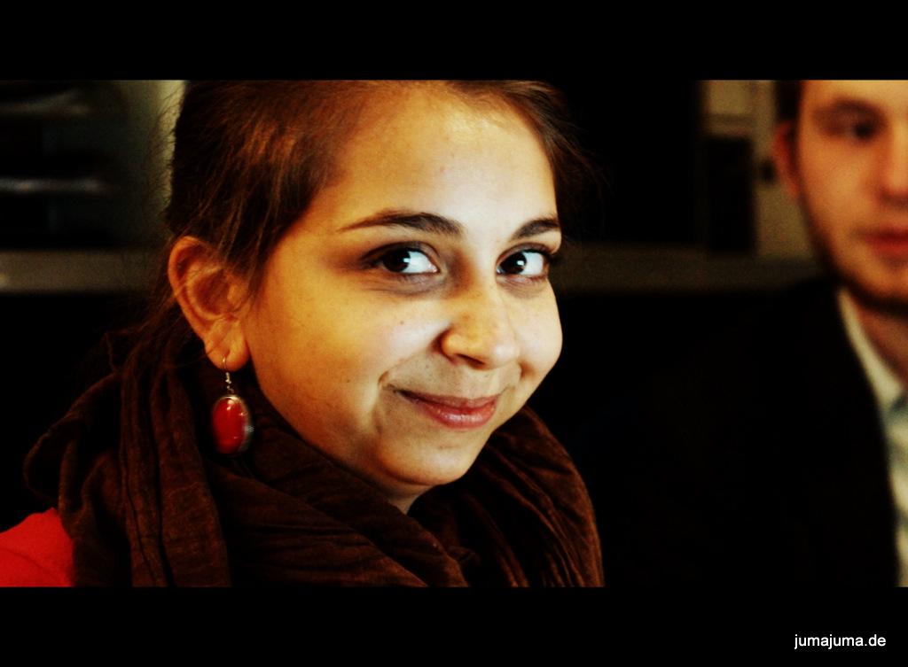 JuMa-Chefredakteurin Melanie