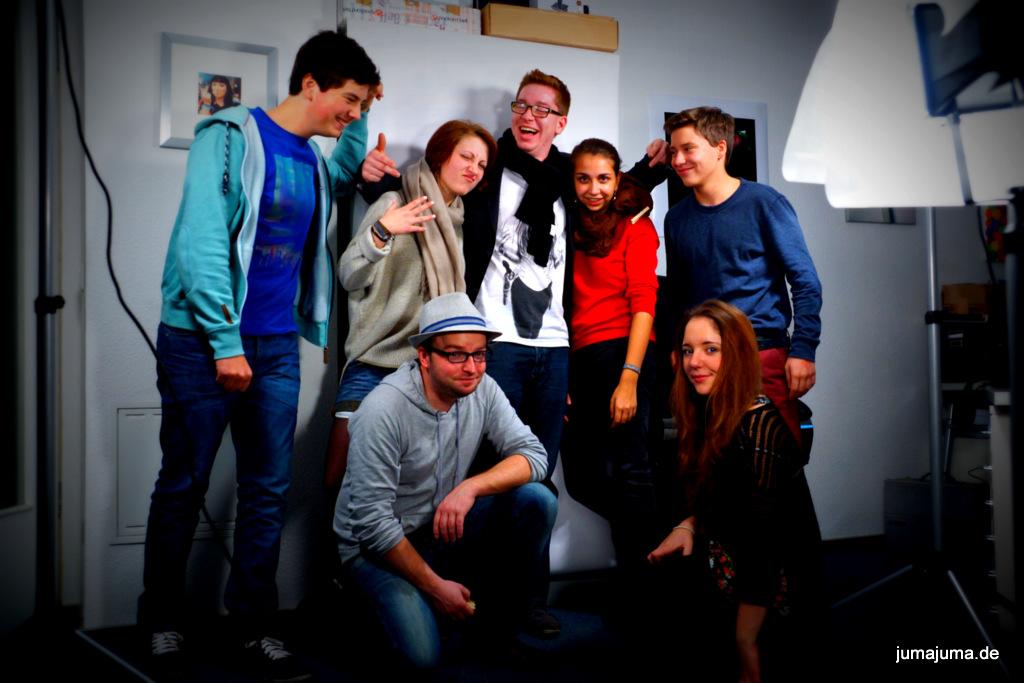 ein kleiner Teil unserer wachsenden JuMa-Crew