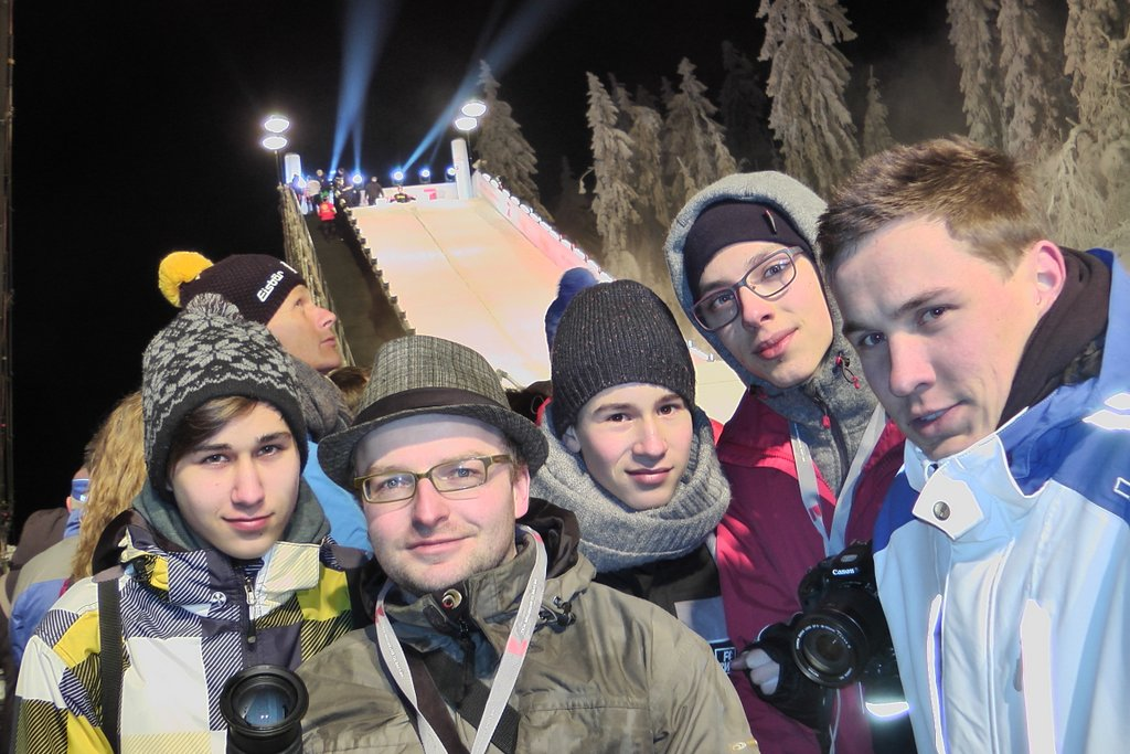 JuMa-Reporter zur Wok-WM in Oberhof