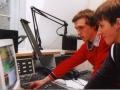 unsere Radiomacher Robert und Tobi