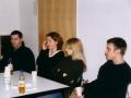 Clueso und Moderatorin Janin Reinhardt auf unserem Jugendmedienforum an der Uni Erfurt