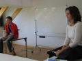 Martin Fischer und Jana Heintze bei Jugendmedienforum