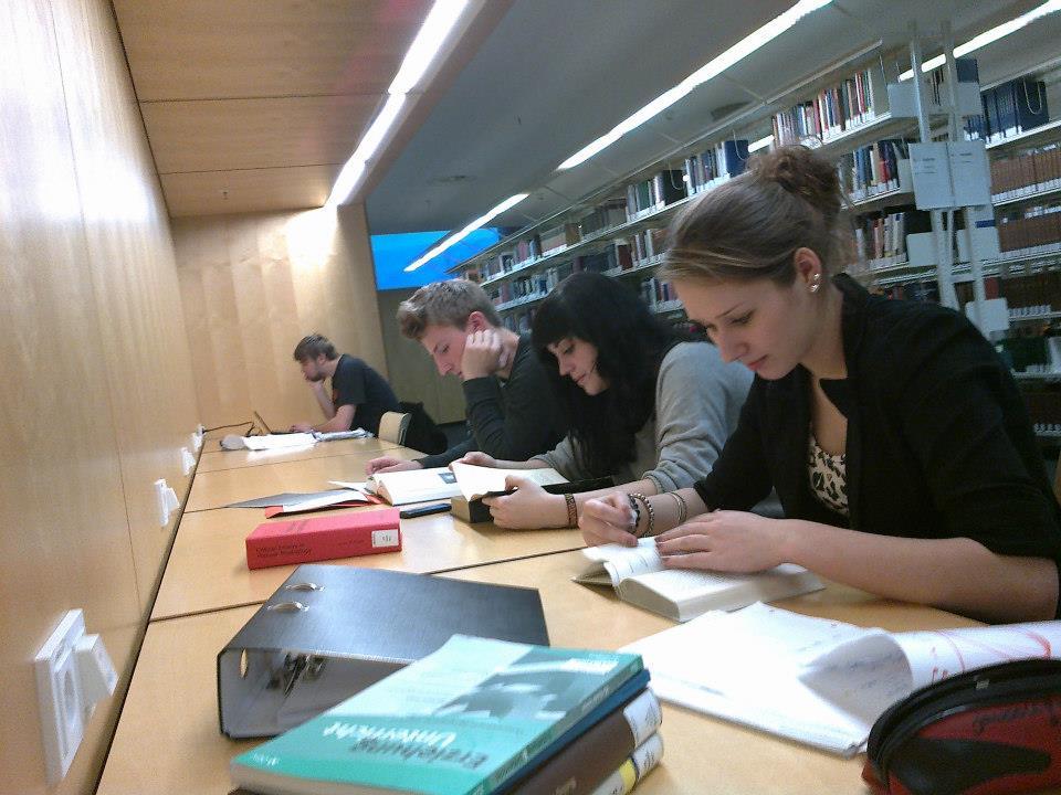 Unsere Semigruppen in der Bibliothek