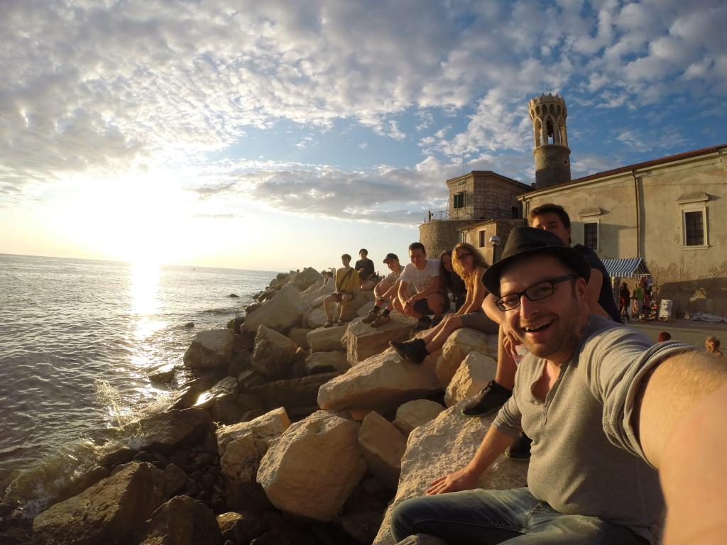 An der slowenischen Adria-Küste entdeckten wir, wie vielseitig dieses kleine und wenig bekannte Land ist. Aufnahme mit einer GoPro 3.